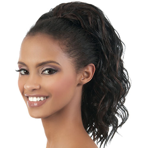 Motown Tress (TIO-18) - Synthetic Half Wig & Ponytail