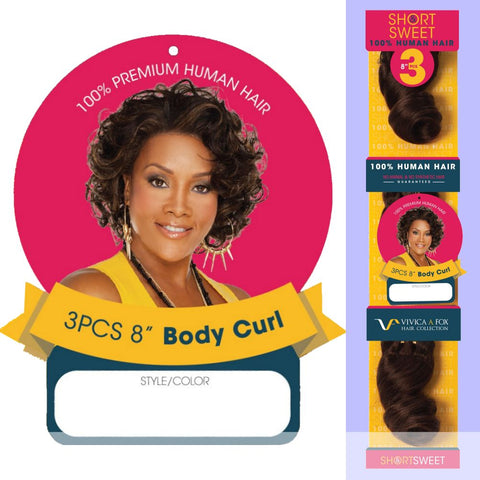 SHORT & SWEET BODY CURL 8 by Vivica A. Fox in color FS4_30