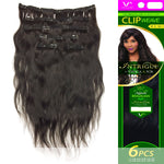"NATURAL BRAZILIAN HAIR 18"" CLIP WEAVE by Vivica A. Fox in color NATURAL"