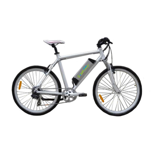 Electric Bike | eBike | Electric Rechargeable Battery Bicycle | White