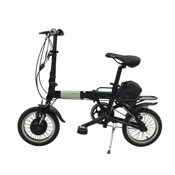 Electric Bike | eBike | Electric Rechargeable Battery Bicycle | Black