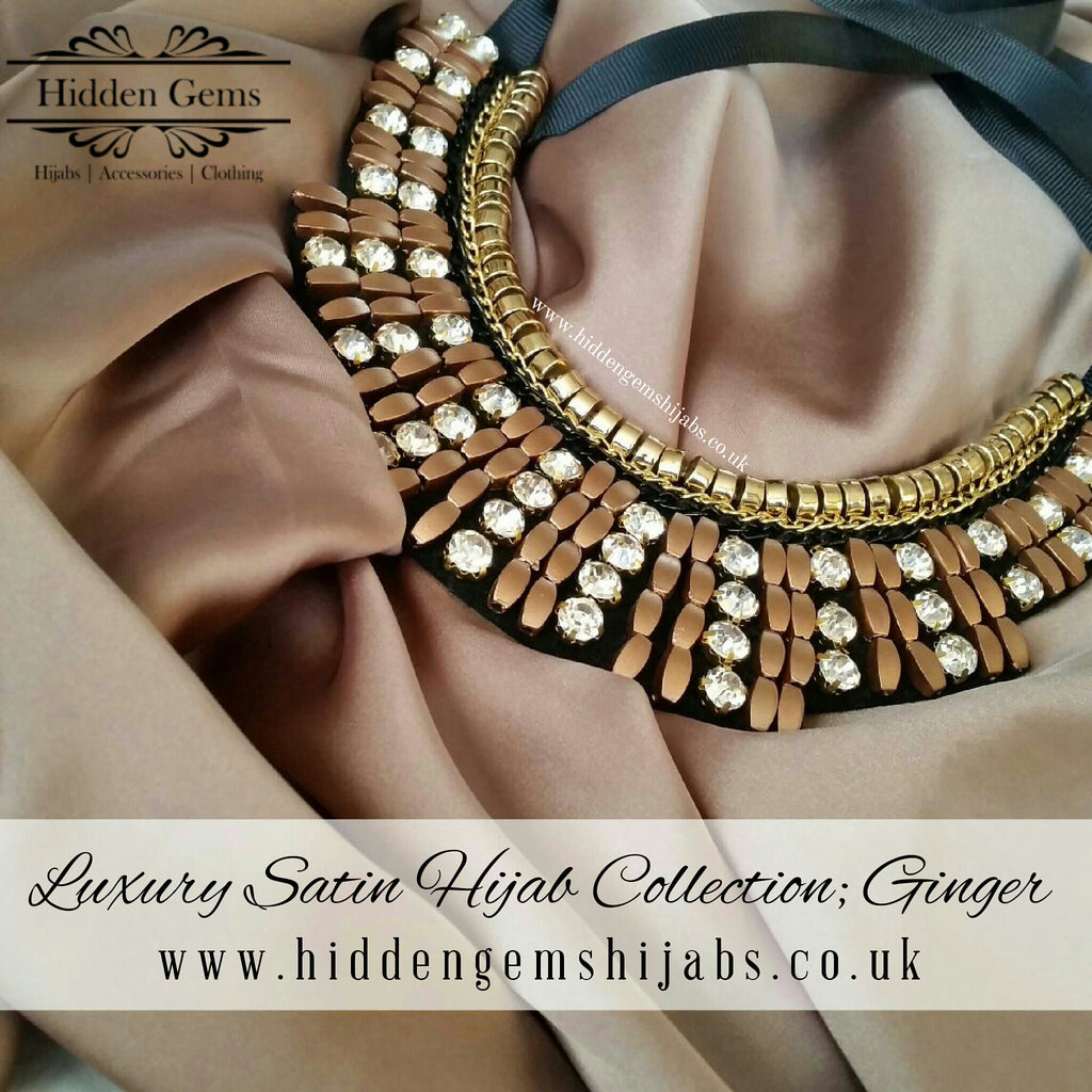 Ginger | Luxury Satin Hijab