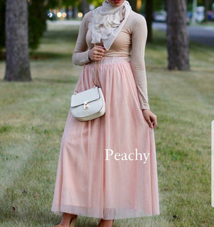 Juwariyah Tulle Maxi Skirt - Preorder from March 2021