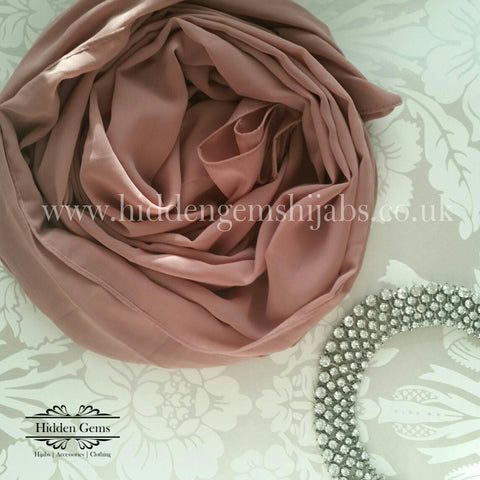 Nude Pink | Georgette Luxe Hijab