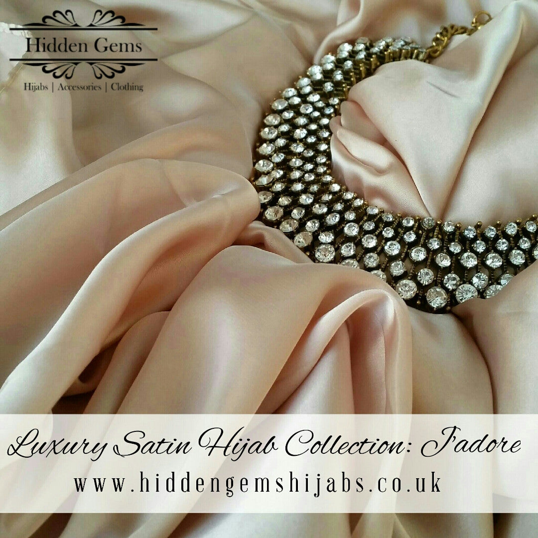J'adore | Luxury Satin Hijab