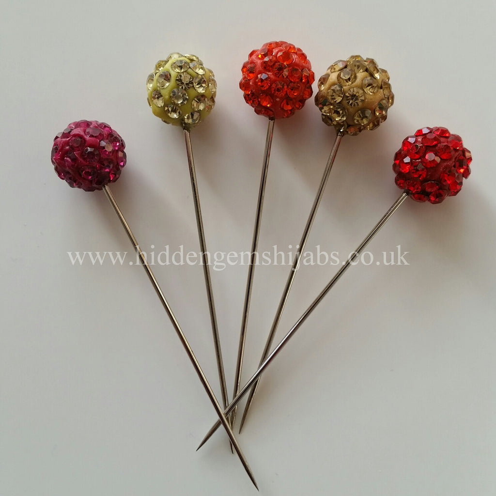 SALE Twinkle Warm Tone Hijab Pins