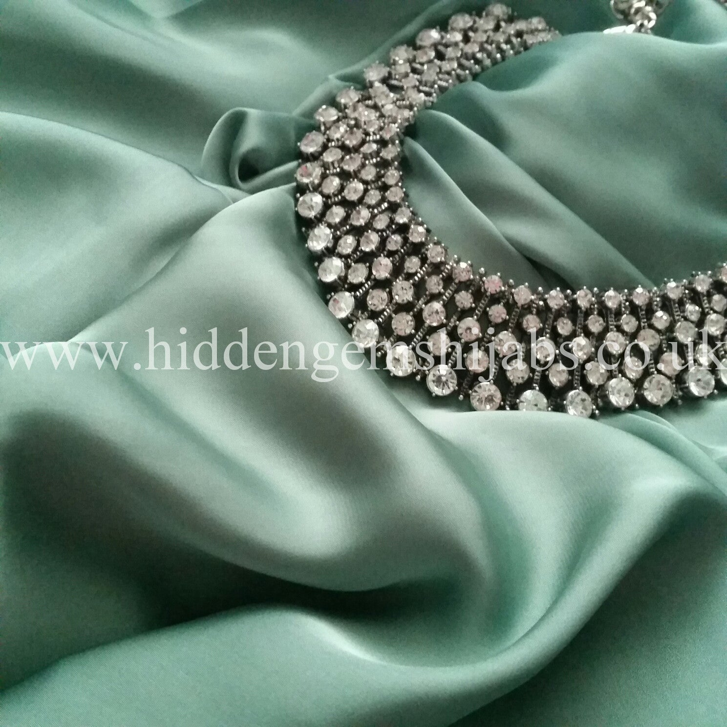 Pastel Mint | Luxury Satin Hijab