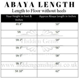 ASIYAH | Black Velvet Chiffon Open Abaya Preorder petite & long lengths