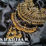 Khadijah | Statement Necklace Gold & Silver