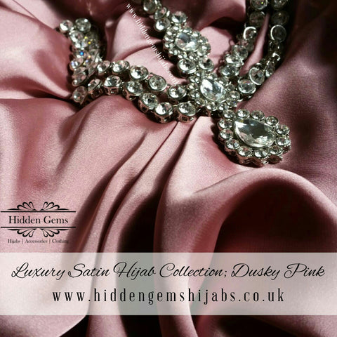 Dusky Pink | Luxury Satin Hijab