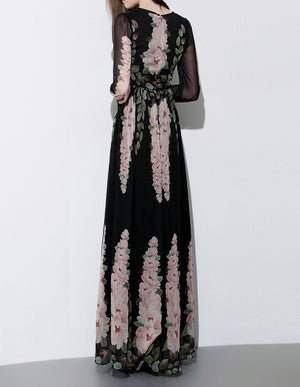 Sample Sale | H I B A H | Silk Maxi Dress