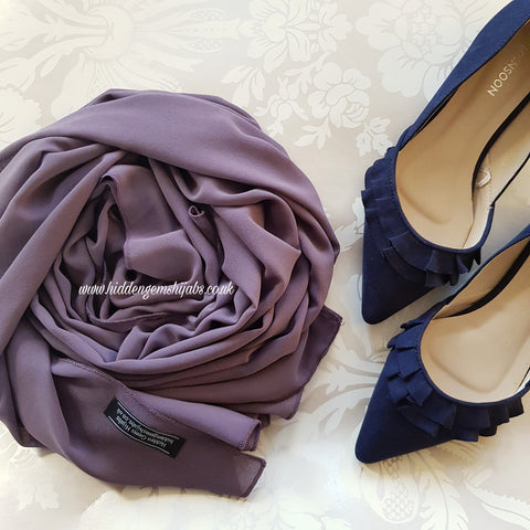 *Mauve | Maxi Georgette Luxe Hijab