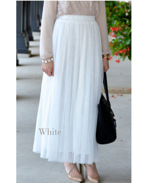 SALE Juwariyah Tulle Maxi Skirt Ready to dispatch
