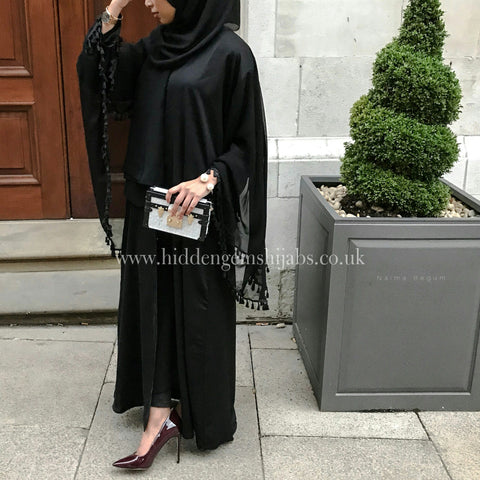 * Noir Cape Abaya | Ready to Dispatch