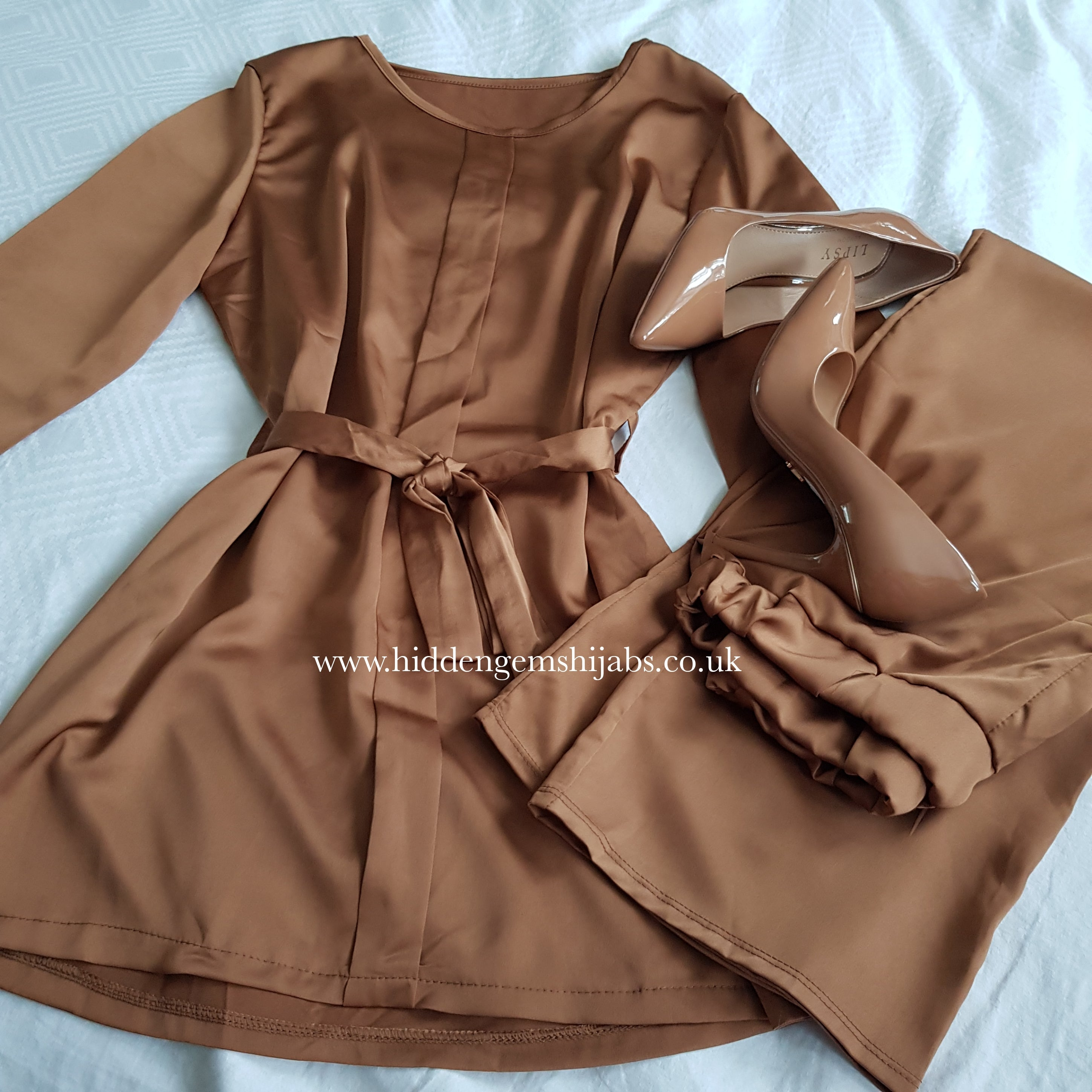 Caramel Luxe Co-ord