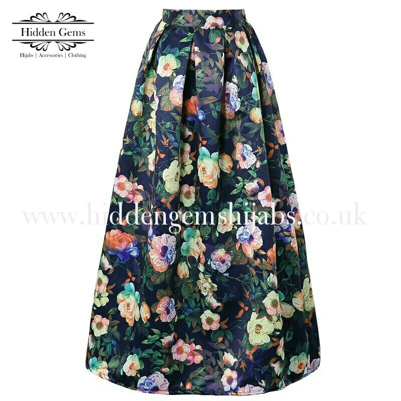 Oil Painting Ballgown skirt