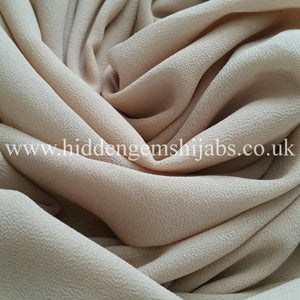 Light Beige | Soft Touch Crepe Hijab