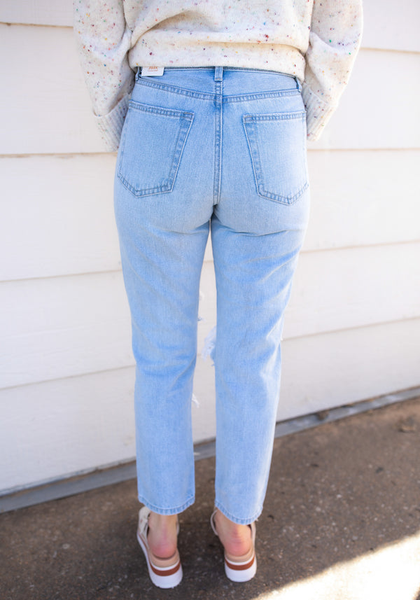 Distressed is Best Boyfriend Denim
