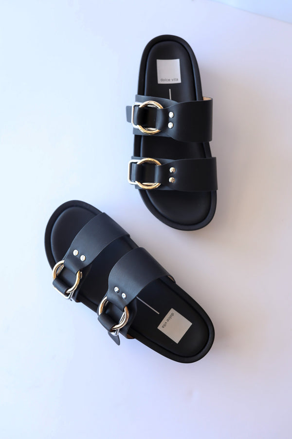 Dolce Vita Cici Sandals in Black Stella