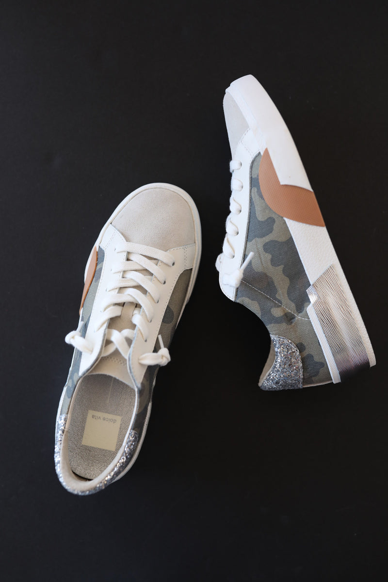 Dolce Vita Zina Sneakers in Camo Canvas