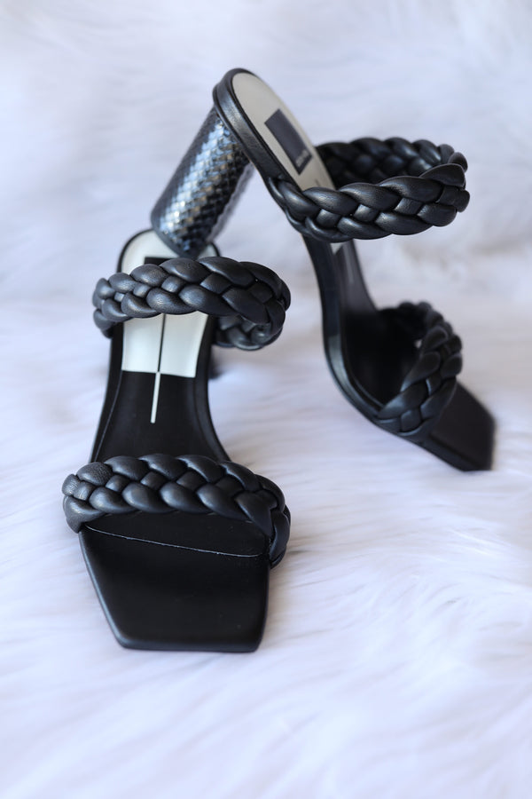 Dolce Vita Pailey Heels in Black Stella