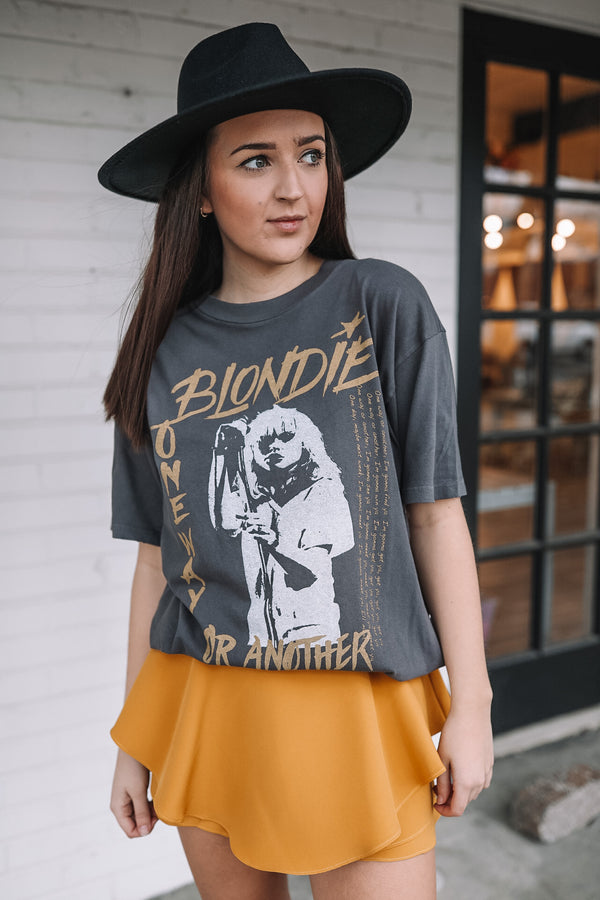 DayDreamer Blondie One Way or Another Weekend Tee