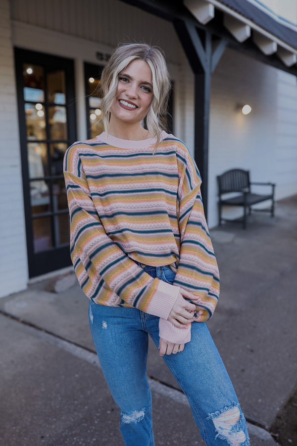 Sunday Stripes Sweater