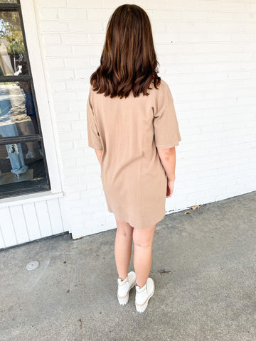 BuddyLove Dakota Dress - Rust