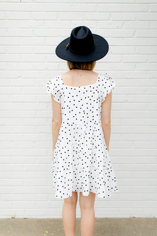 Eyelet On You Short Sleeve Dress