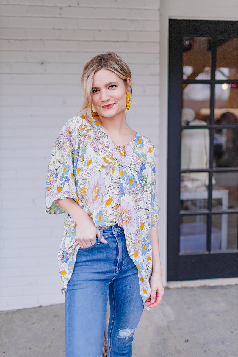 BuddyLove North Tunic - Flower Power