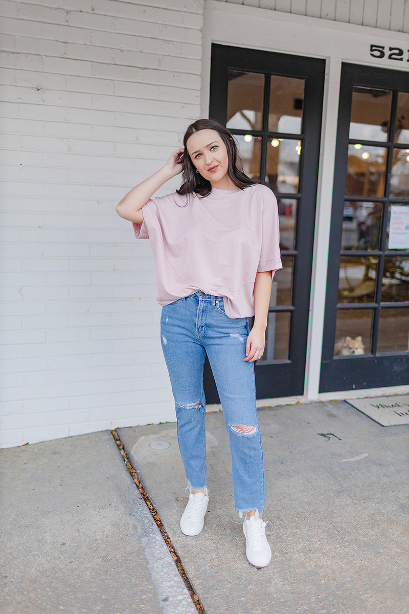 Casual Mood Pink Top