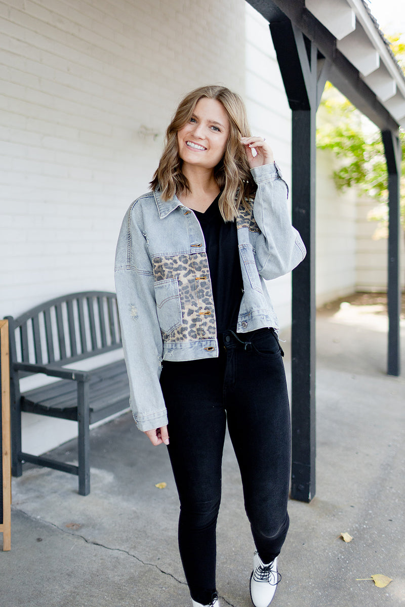 Be Bold Leopard Jacket