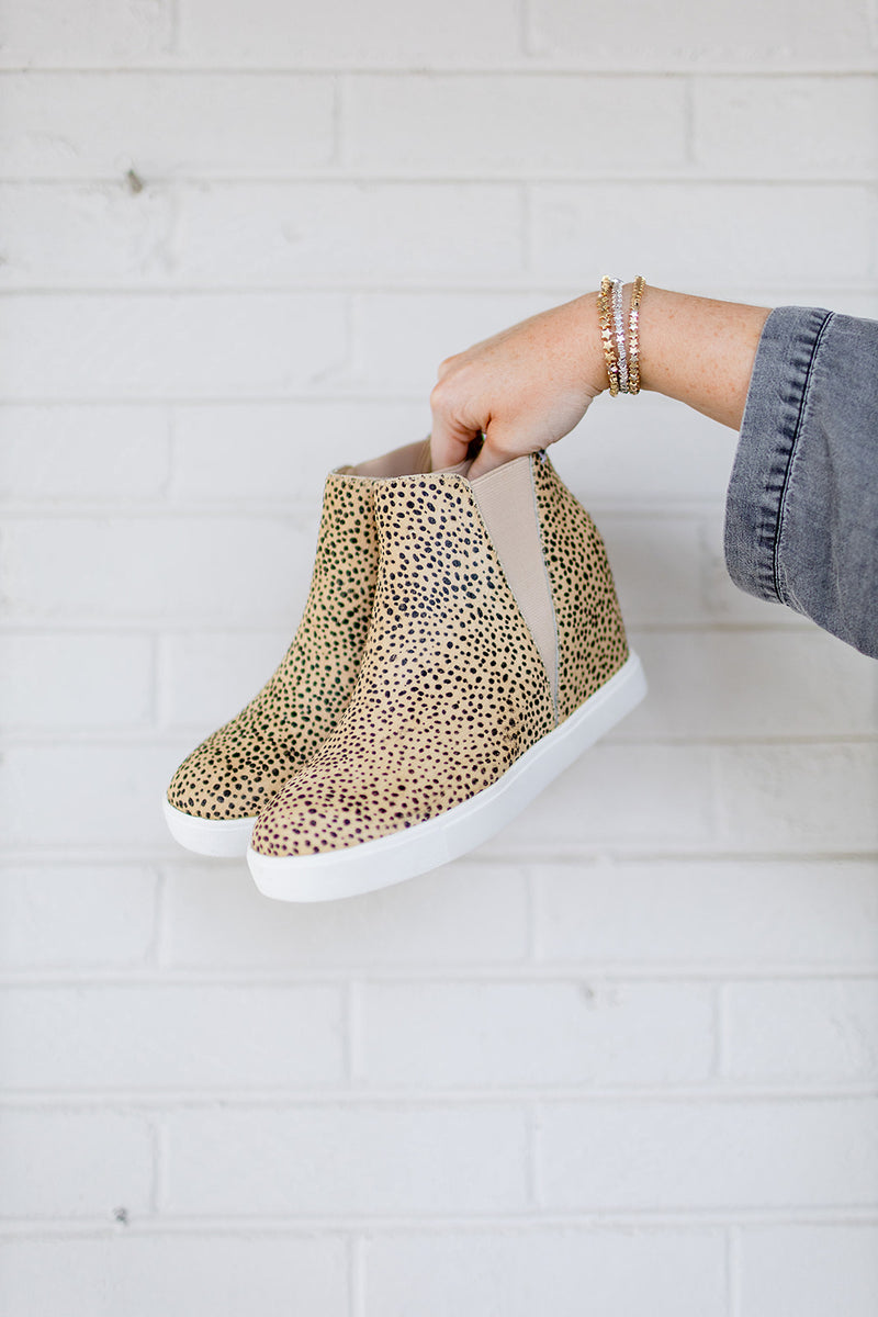 Matisse Lure Spotted Wedge Sneaker