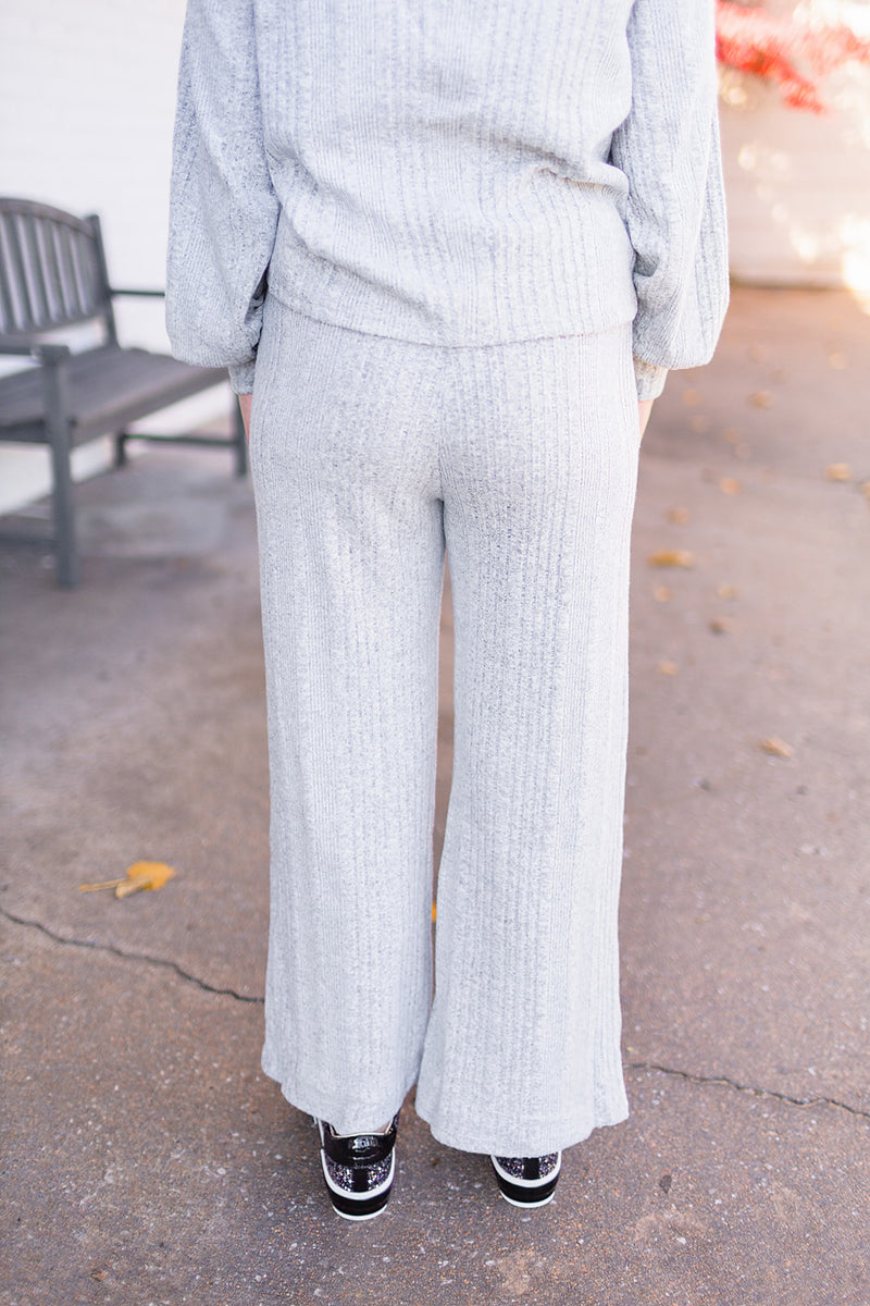 Lady of Leisure Ribbed Pants