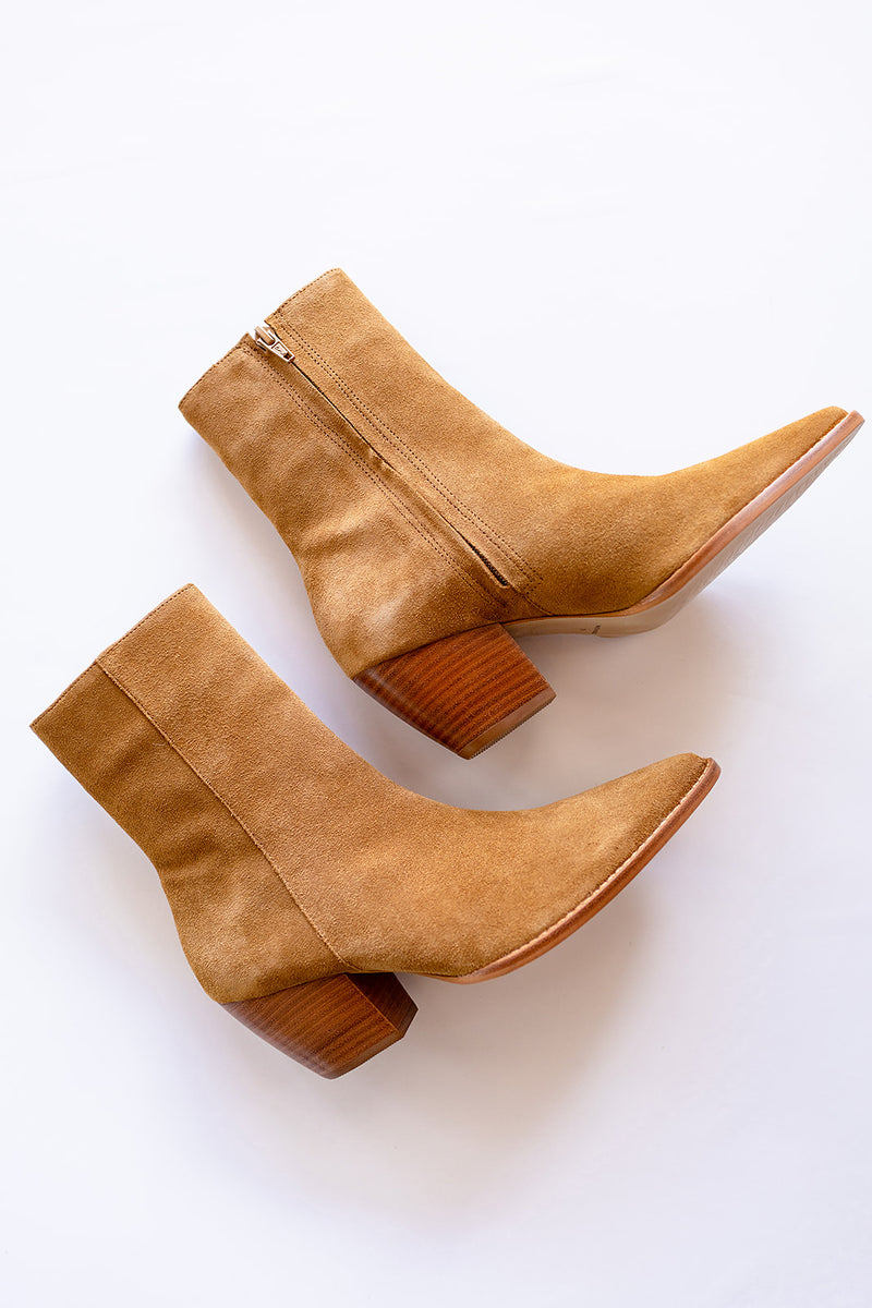 Matisse Caty Bootie - Fawn Suede