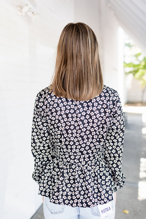 Fall Into You Floral Top