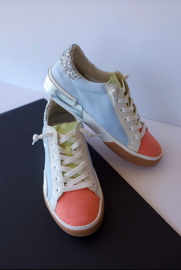 Dolce Vita Zina Sneakers in Sherbet Multi Fabric