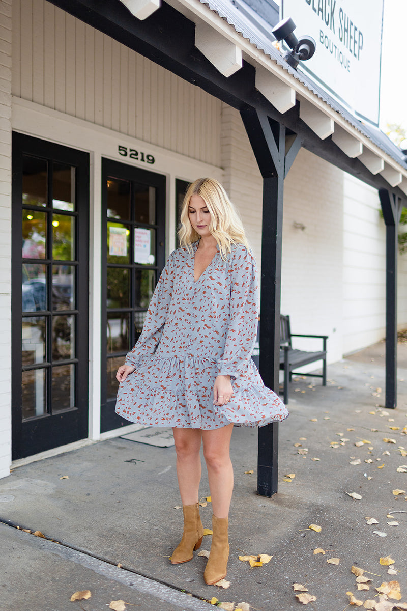 Swing Easy Spotted Dress