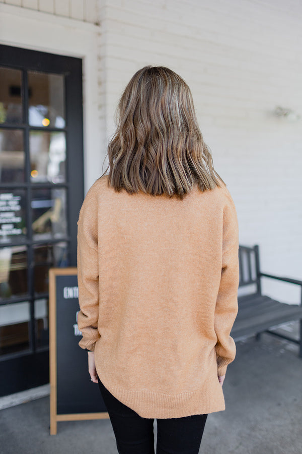 On Mute Sweater - Taupe