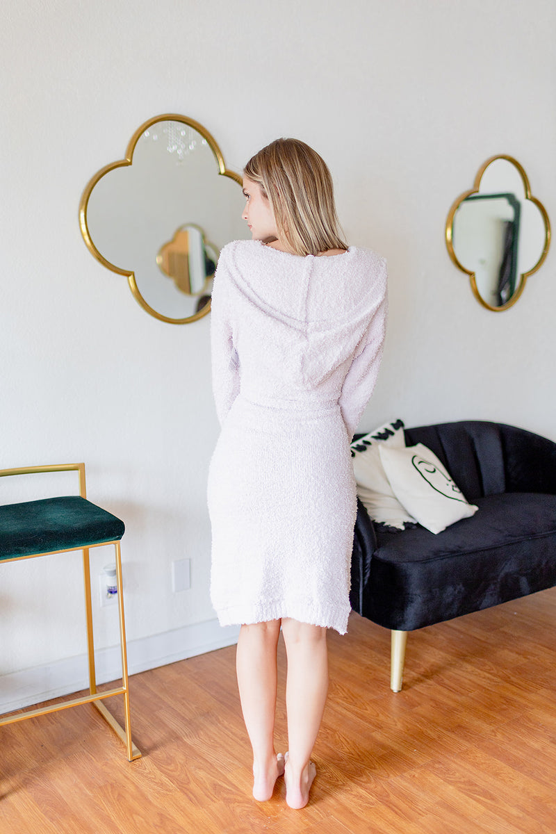 Sweet Dreams Cozy Robe - Light Pink