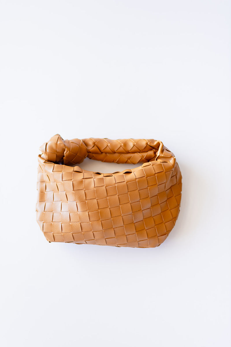 Weave It Bag - Brown