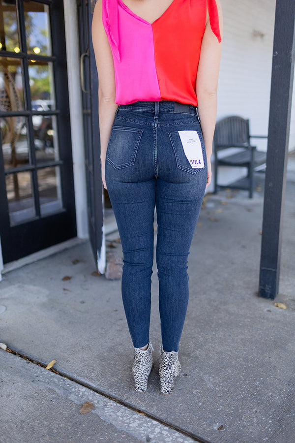 Pistola Audrey Mid Rise Skinny Jean - Before Sunrise