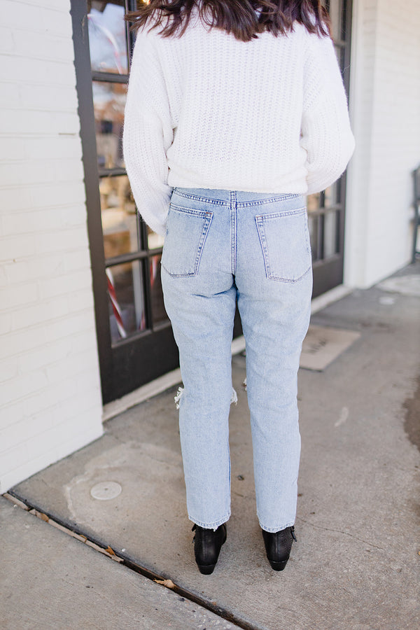 Better Girlfriend Denim - Light Wash