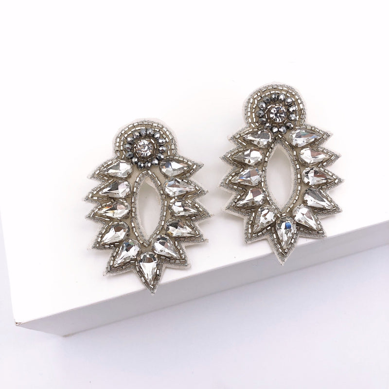 Treasure Jewels Spike Stud Silver Earring