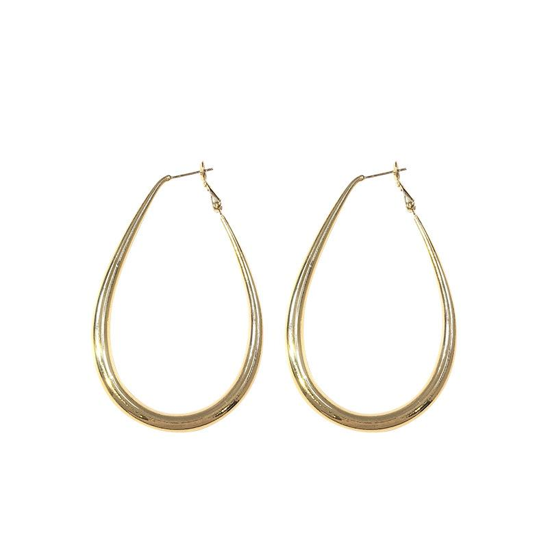 Treasure Jewels Drop Hoop Earring