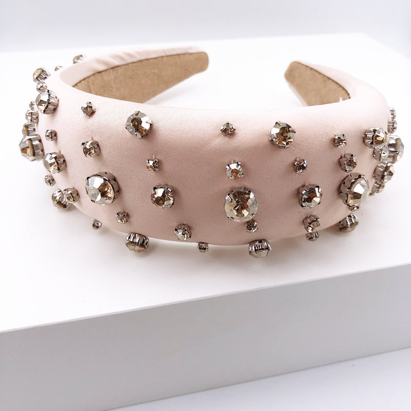 Treasure Jewels Crystal Nude Dots Headband