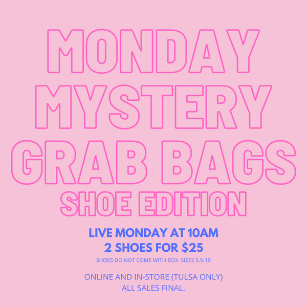 Mystery Grab Bag: Shoes Edition