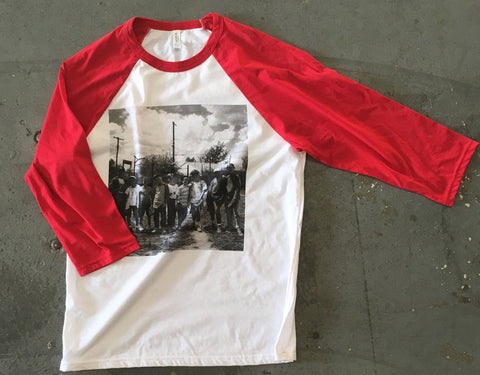 Boys of Summer (3/4 Raglan - Red)