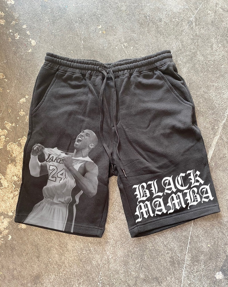 Black Mamba Sweat Shorts