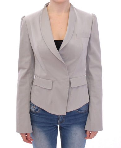Dolce and Gabbana grey blazer womens